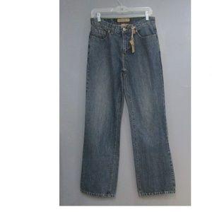NEW Ryan Michael Boyfriend Blue Jeans Size 6
